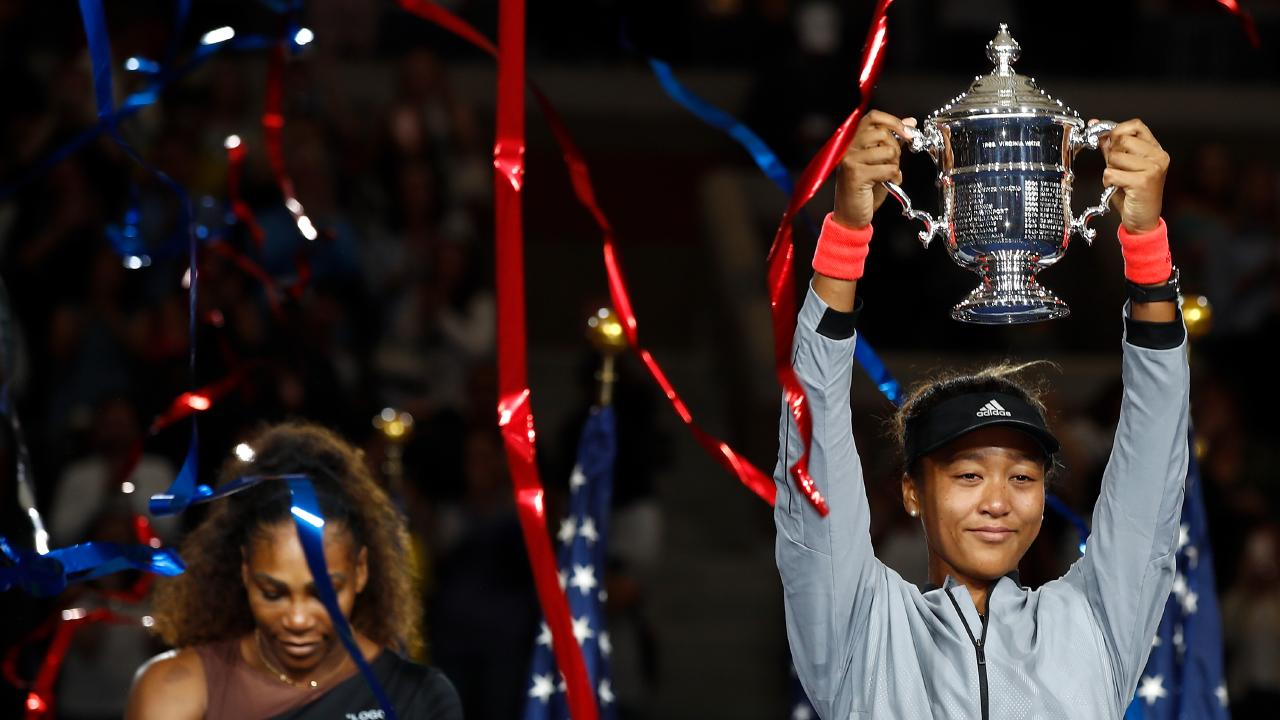 Naomi Osaka added the Australian Open triumph to her breakthrough win at the US Open. Picture: Getty