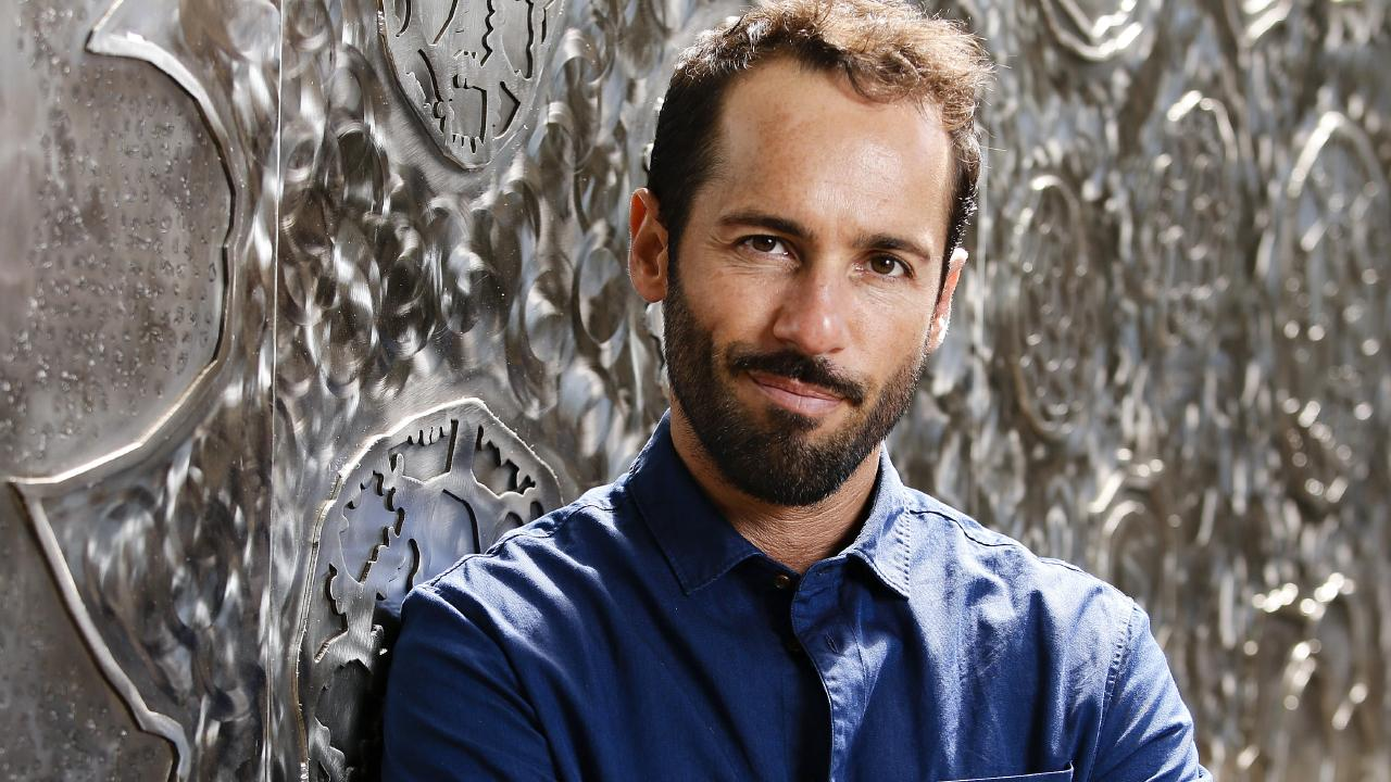 Actor Alex Dimitriades. Picture: Justin Lloyd.