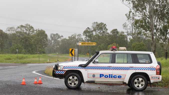 A 32-year-old paramedic died on Mackay Eungella Road on Monday morning when the ambulance he was driving hit a tree.