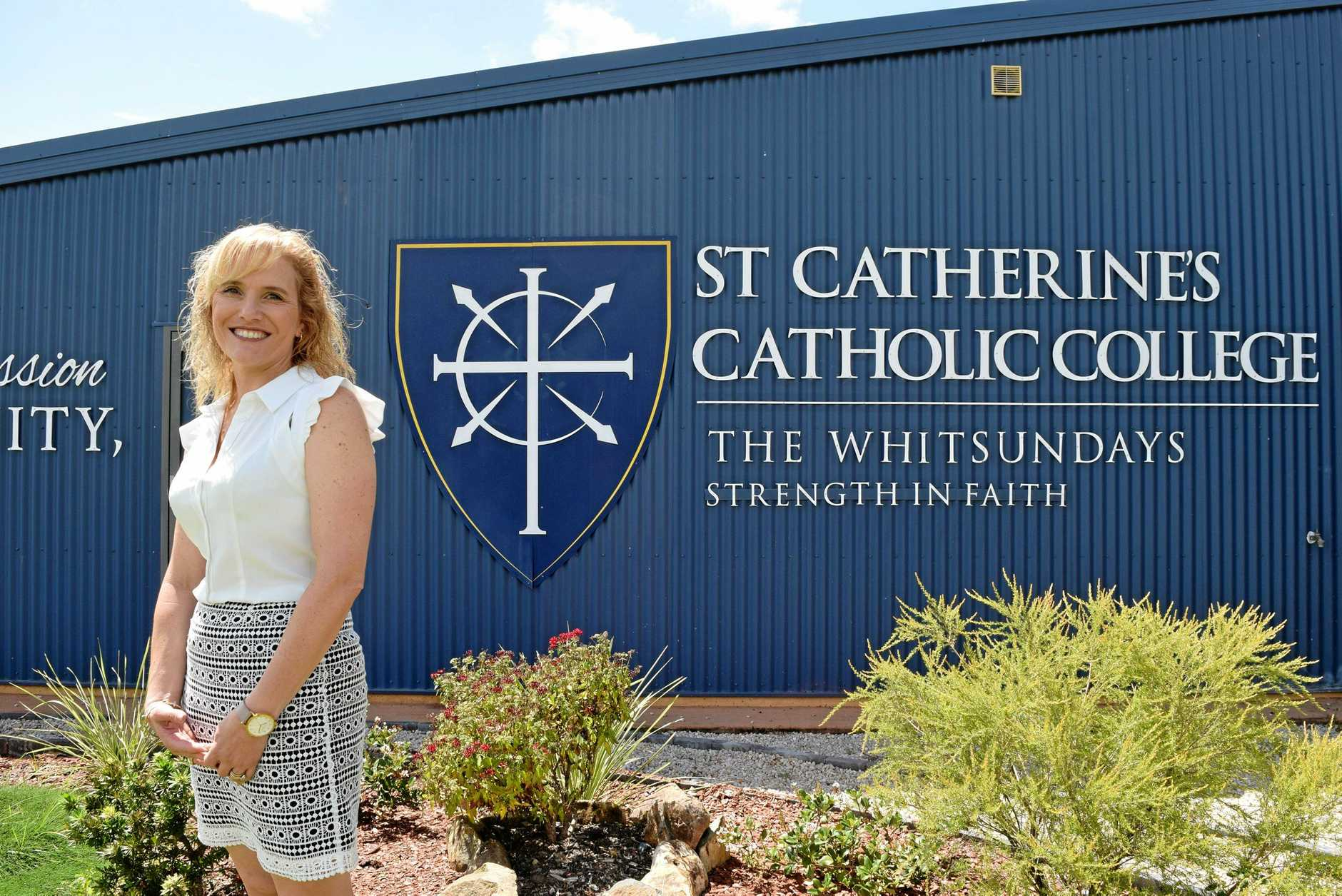 Mel Scherwitzel has been appointed as the new principal of St Catherine's Catholic College.