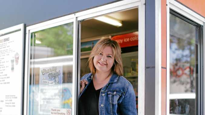 OPENING SOON: The Fast Lane Drive-Thru Coffee founder Paula Anderson at the Dubbo store. Plans are in place to open in Toolooa St.