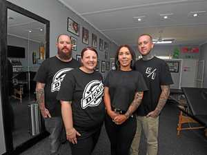 Gympie mates ink in fresh chapter with new tattoo business