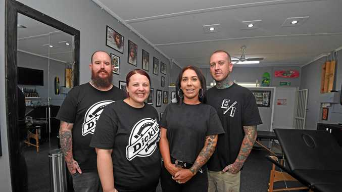 Matthew Sullivan, Kellie Sullivan, Mikala Potts, Ash Thorburn. Eternal Tattoo