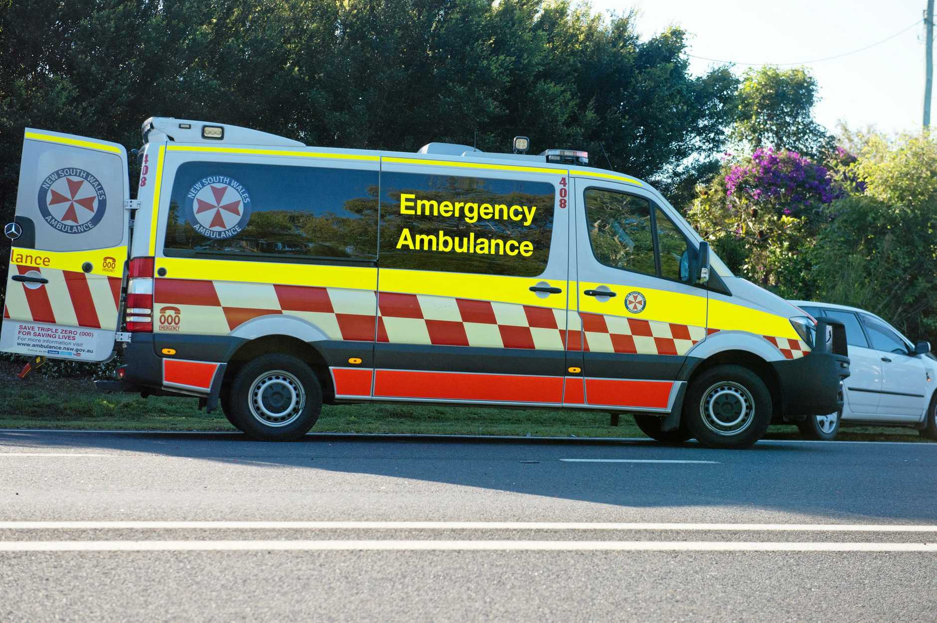 CAR CRASH: Emergency services have been called to a car crash on the Pacific Hwy at Crabbes Creek.