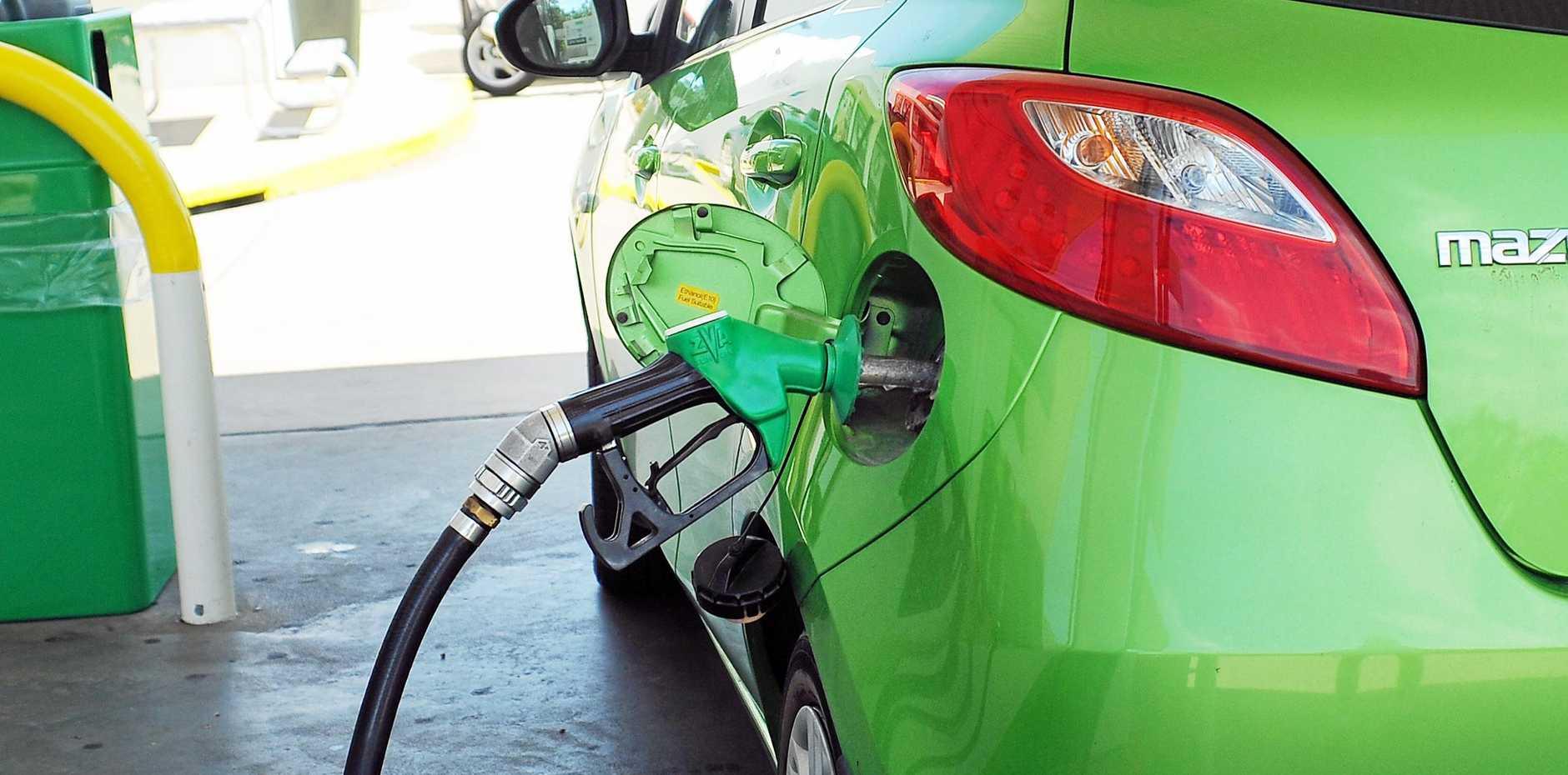 Fuel prices around Coffs Harbour.