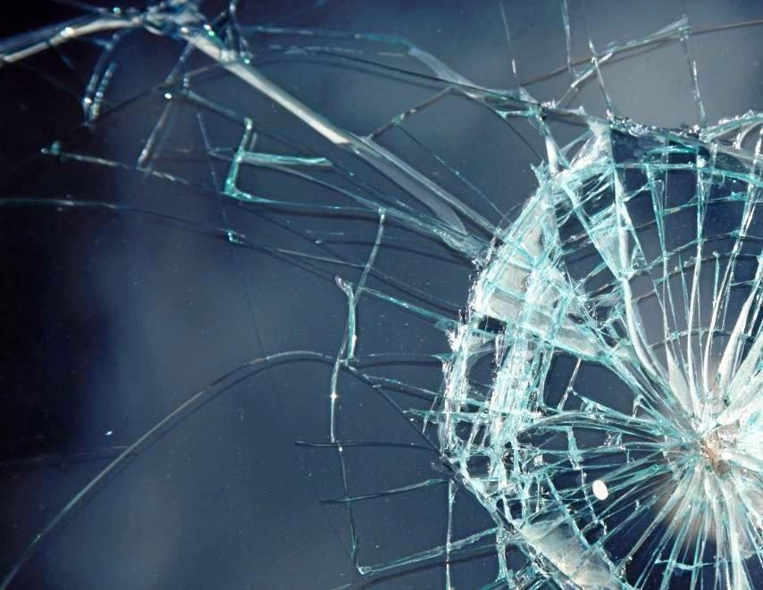 POLICE INVESTIGATION: A lump of concrete was thrown through the glass door of a house under construction at Southside on the weekend.