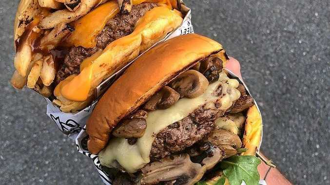 Over-the-top menu items are served up at Ninth Street, making it a clear favourite among Coast burger joints.