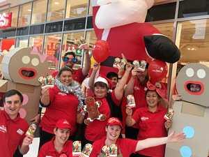 Customers raise $5700 for Redkite