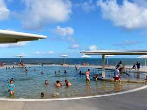 Children hospitalised after almost drowning at beach pool