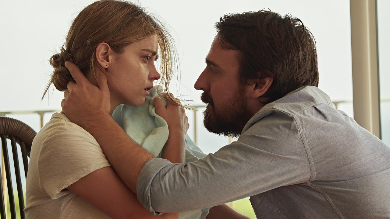 Jenna Coleman and Ewen Leslie play a distraught couple in The Cry
