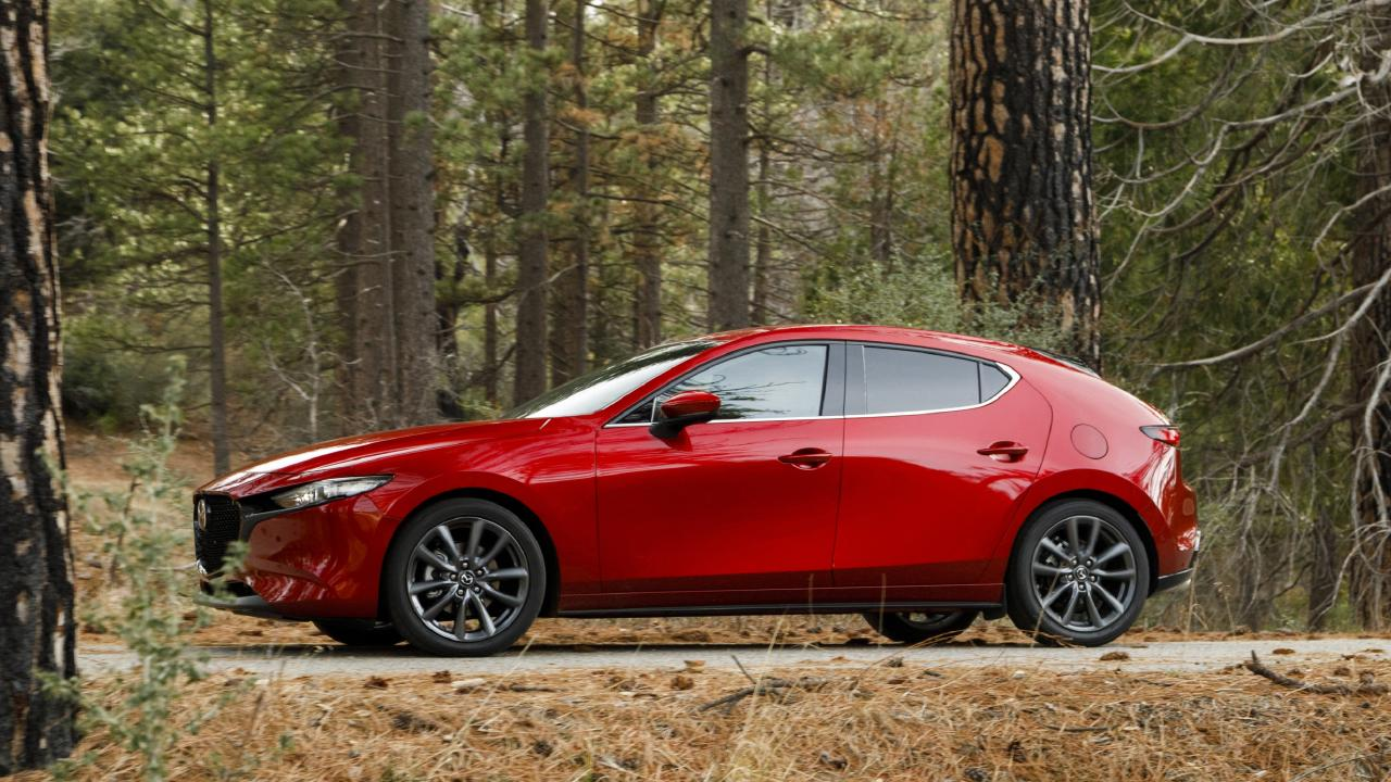 Mazda has worked hard at reducing road noise in the new 3.