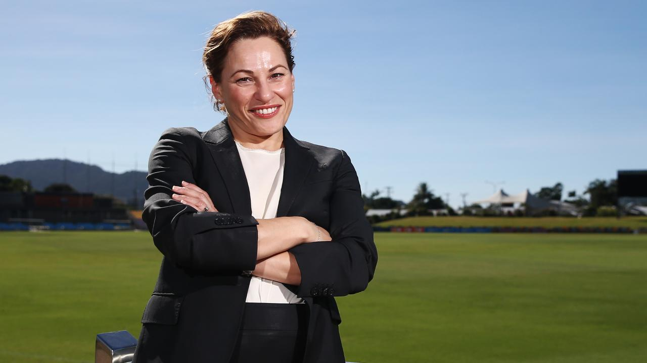 Treasurer Jackie Trad says it's hardly surprising that NSW residents are heading north. Picture: Brendan Radke