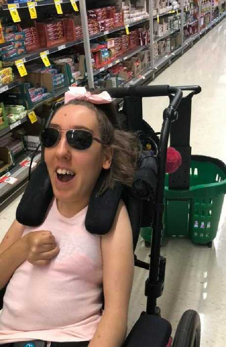 Briana Condon was sworn at while out shopping at the weekend.