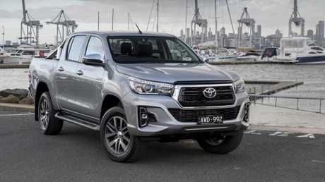 The Toyota HiLux is the best selling vehicle in the country. Picture: Supplied.