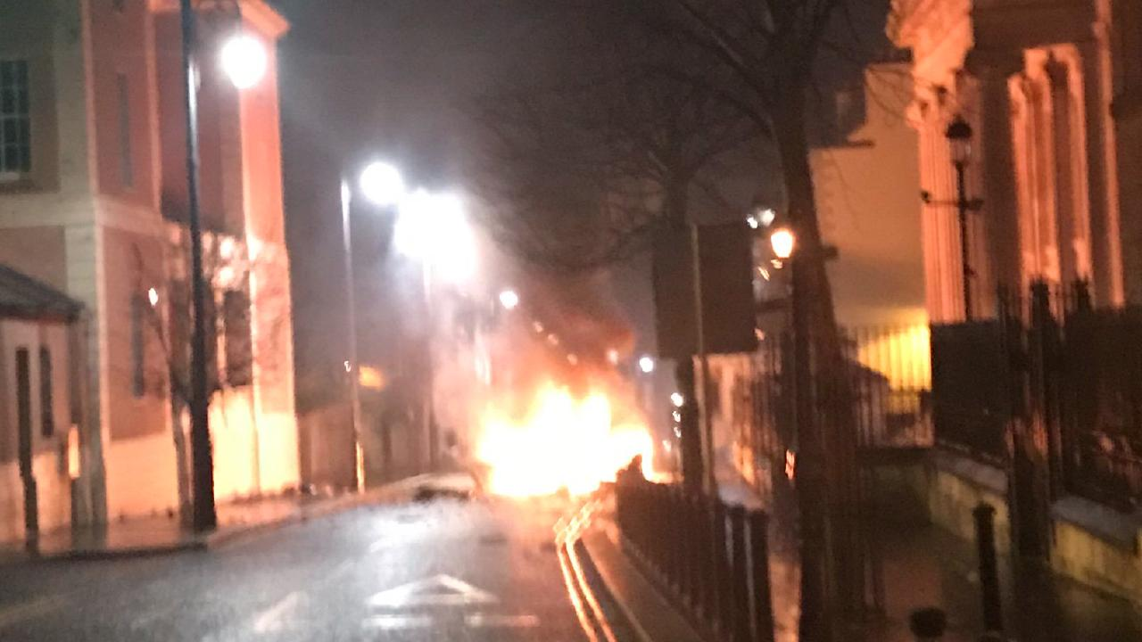 The car bomb explosion in Londonderry has reignited fears of unrest in Northern Ireland.