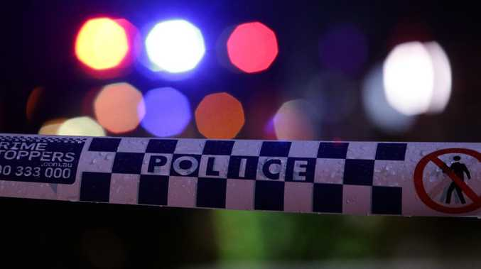 Five teenage boys are left serious injuries after becoming trapped inside a vehicle after it rolled over at Mt Tamborine this morning.