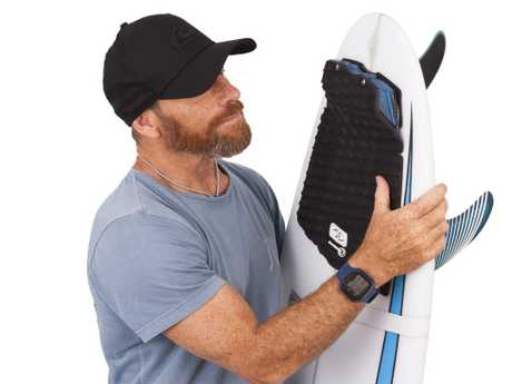 The Ocean Guardian Freedom+ Surf shark repelling surfboard was created in partnership with Tom Carroll.