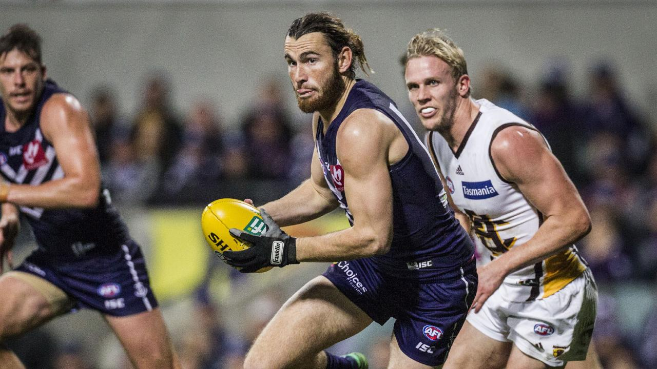 Connor Blakely was set to fill the midfield void left by Lachie Neale. Picture: AAP