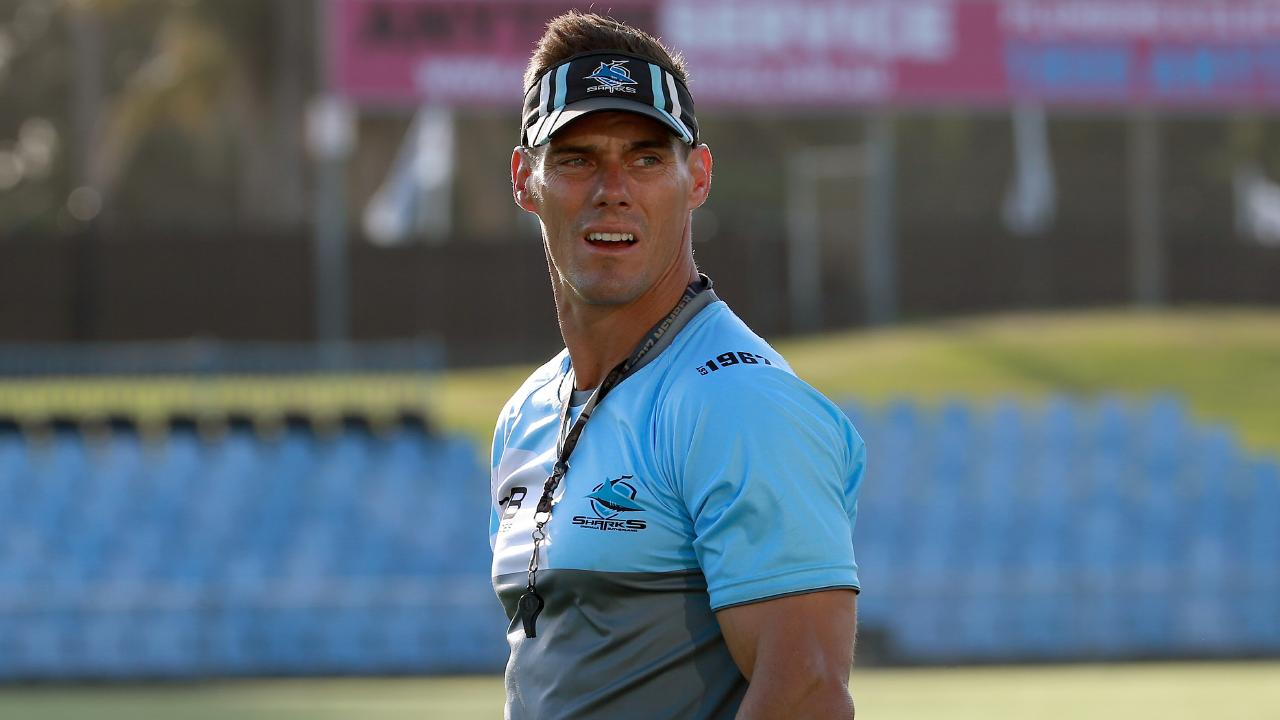 Cronulla Sharks' interim coach John Morris is in the running to take over the top job.