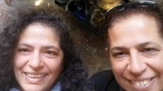NSW university professor Lily Pereg, left, and her  sister Pyrhia Sarusi were found dead in a shallow grave  on a property belonging to the academic's nephew. Picture: Facebook