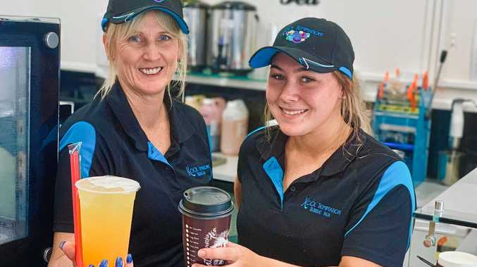 Kool Temptations owner Tanya McKay and staff member Jolie Lock look forward to opening a second store in the Mackay CBD in March.