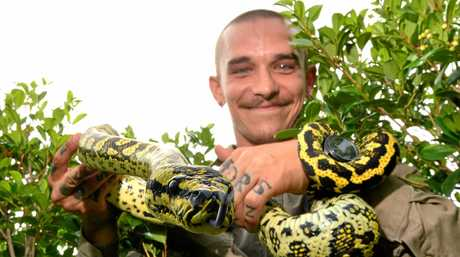 Snake catcher Rhys Chapman says leave it to the professionals when it comes to snakes.
