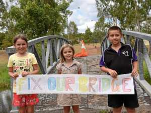 'Someone's going to get killed': Eidsvold protests bridge