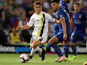 Nisbet flies high after A-League debut