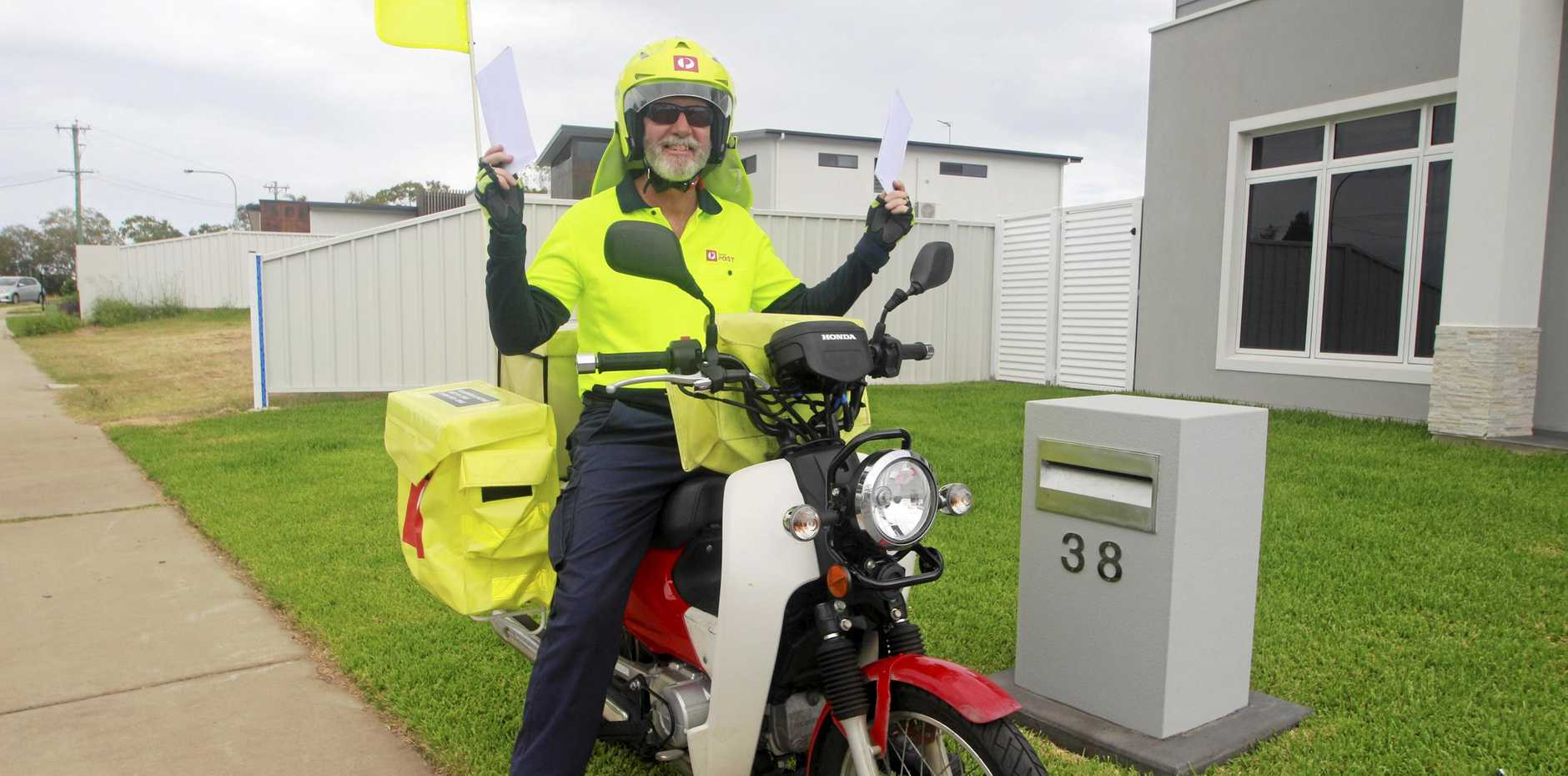 TOP JOB: Shannon Martin has been with Australia Post for 33 years, and loves it.