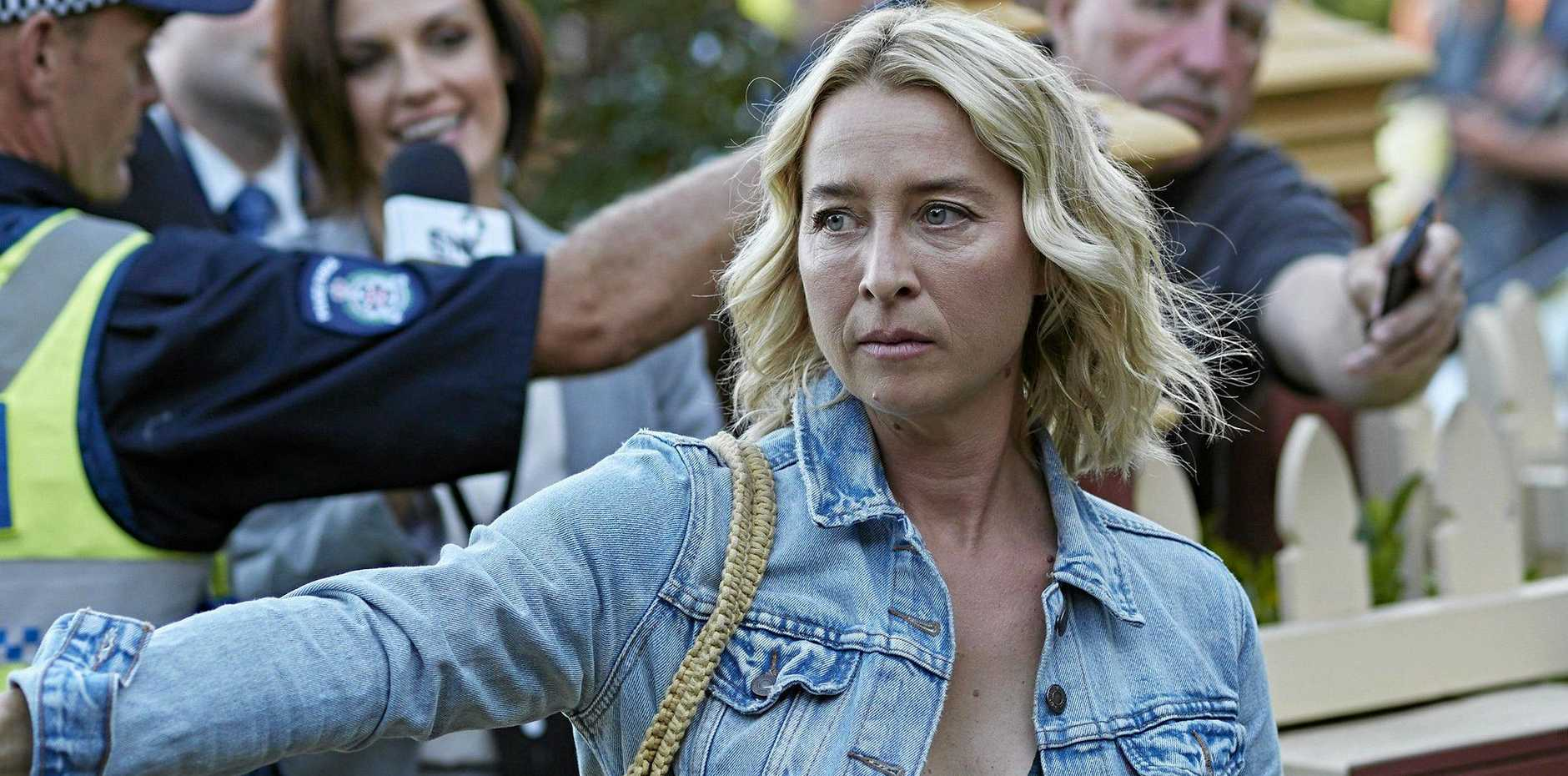 Asher Keddie as Alexandra in a scene from the movie The Cry.