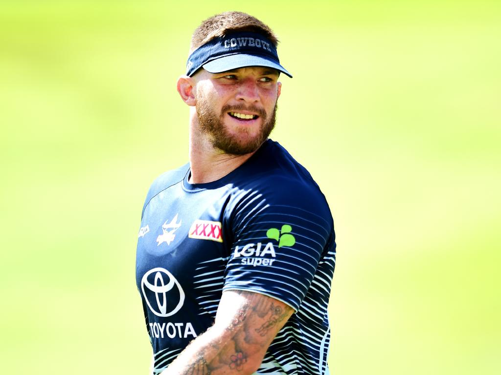 Josh McGuire is looking to cement a place in the Cowboys pack. Picture: Alix Sweeney