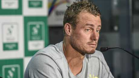 Australian Davis Cup captain Lleyton Hewitt is not happy about the changes. AAP Image/Roy VanDerVeg