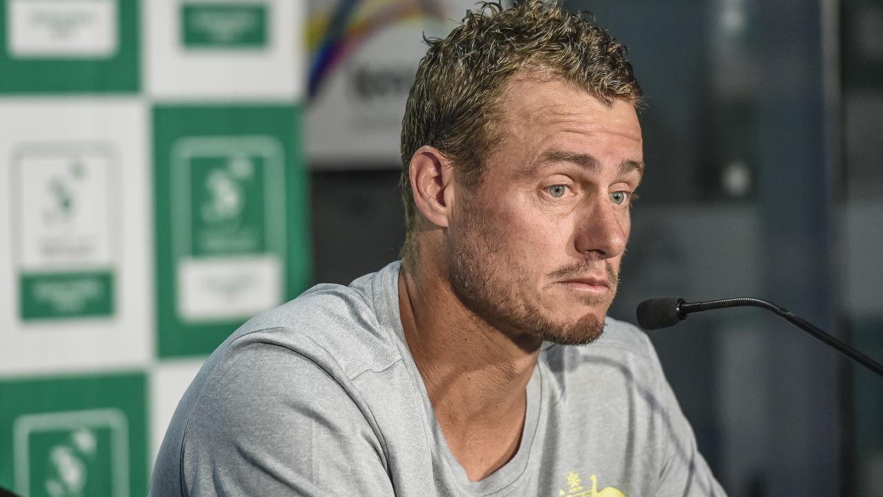 Australian Davis Cup captain Lleyton Hewitt is not happy about the changes. AAP Image/Roy VanDerVeg