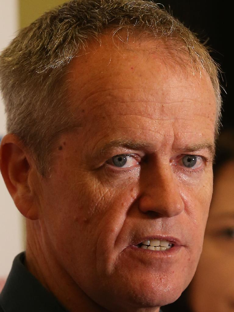 Federal Labor Opposition Leader Bill Shorten. Picture: Lyndon Mechielsen/The Australian