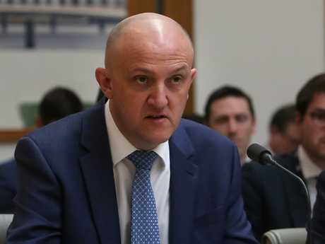 Australian Signals Directorate director-general Mike Burgess said the next-generation mobile network would have been at risk had Huawei been allowed to build it. Picture: Kym Smith