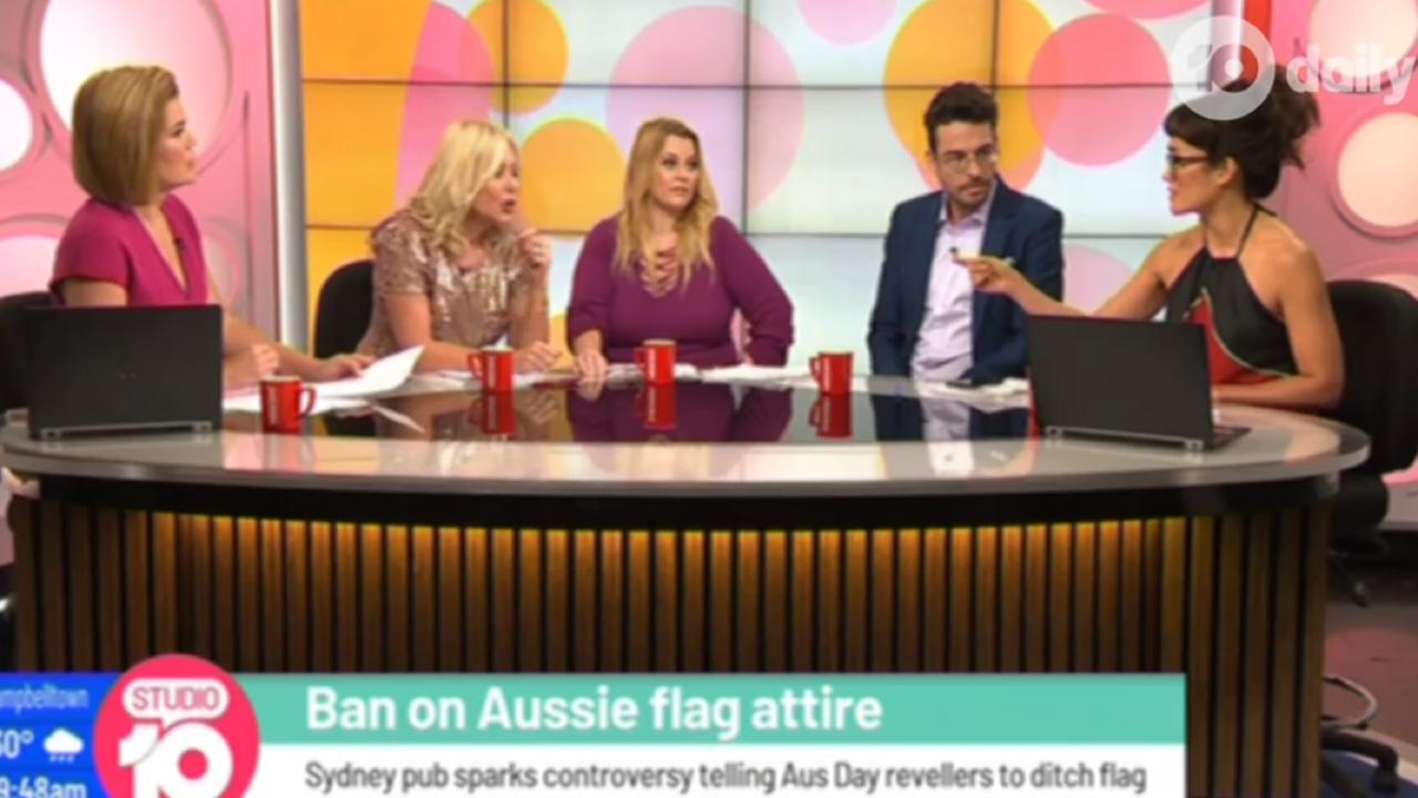 Yumi Stynes and Kerri-Anne Kennerley go head to head over Australia Day on Studio 10.