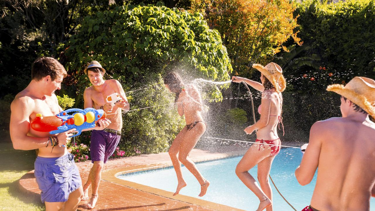 Has there been enough backyard fun already these holidays?