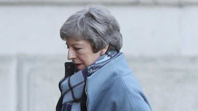 Britain's Prime Minister Theresa May signals new Brexit vote soon. Picture: AP