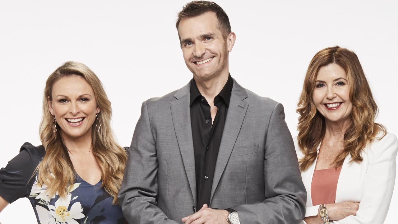 Mel Schilling, John Aiken and Dr Trisha Stratford make up the expert panel on Married At First Sight. Photo: Channel 9