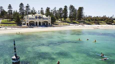 Cottesloe Beach looks like the perfect place to meet. Picture: Tourism Western Australia