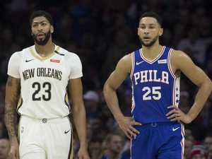 'Trade Ben': NBA reacts to Davis demand