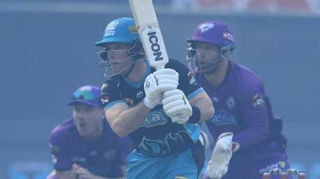James Peirson did his best to lift the Heat with a 50. Picture: AAP