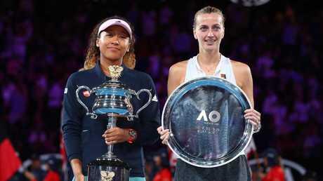 Petra Kvitova gained plenty of fans at the Australian Open.