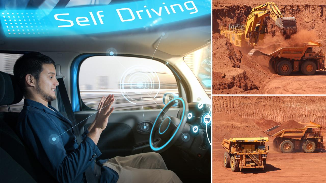 More than half of Aussie drivers say they will never feel safe in a driverless vehicle but Rio Tinto says the success of driverless vehicles in the mining sector could help overturn widespread unease.