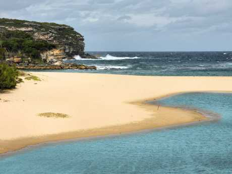 Wattamolla Beach in the Royal National Park. Picture: Thinkstock