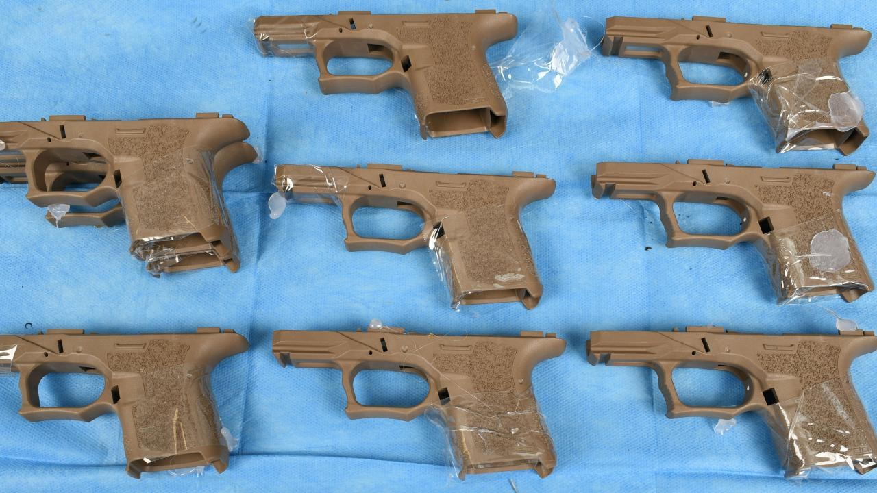Three men have been charged over the alleged firearm smuggling operation. Picture: Aneeka Simonis