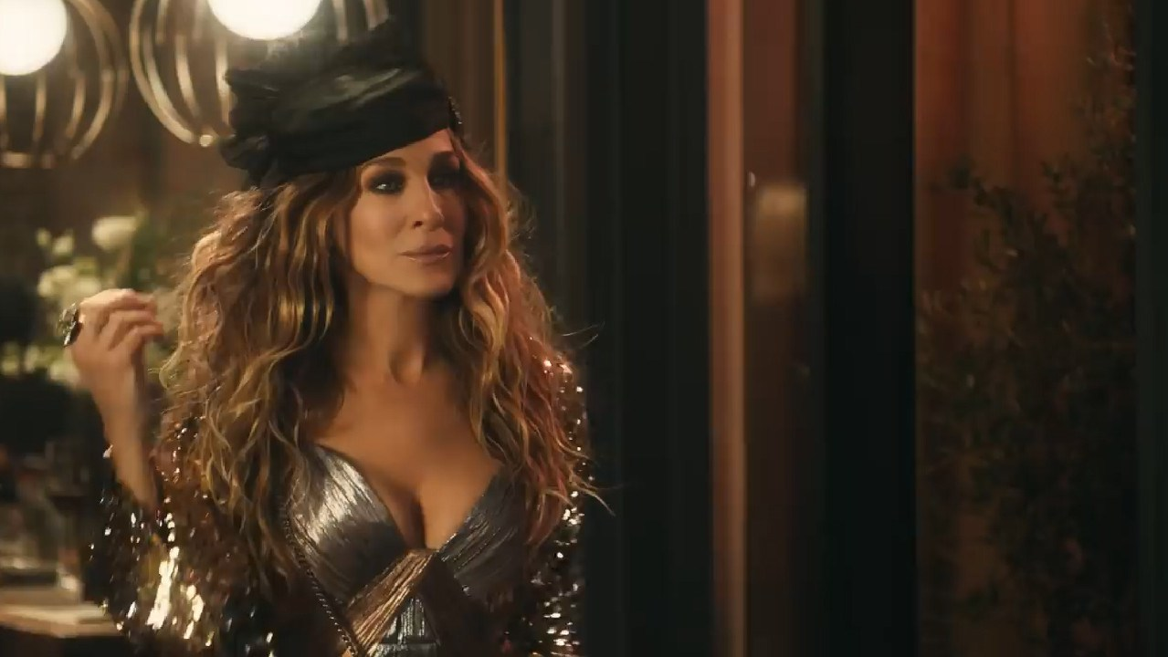 SJP stars in a Super Bowl ad for Stella Artois. Picture: Stella Artois