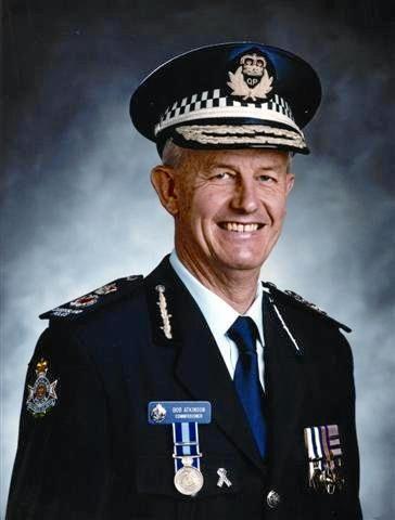 Former Queensland Police Commissioner Bob Atkinson APM.