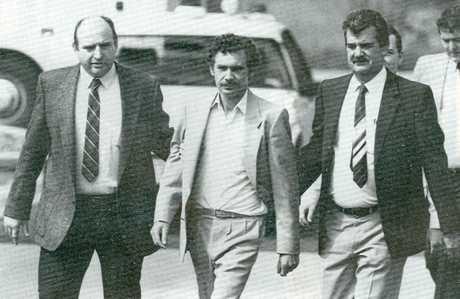 HORRIFIC: Barrie John Watts (c) remain in prison for the rape and murder of schoolgirl Sian Kingi.