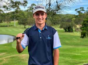 Golfer wins in SA with strong Foundation